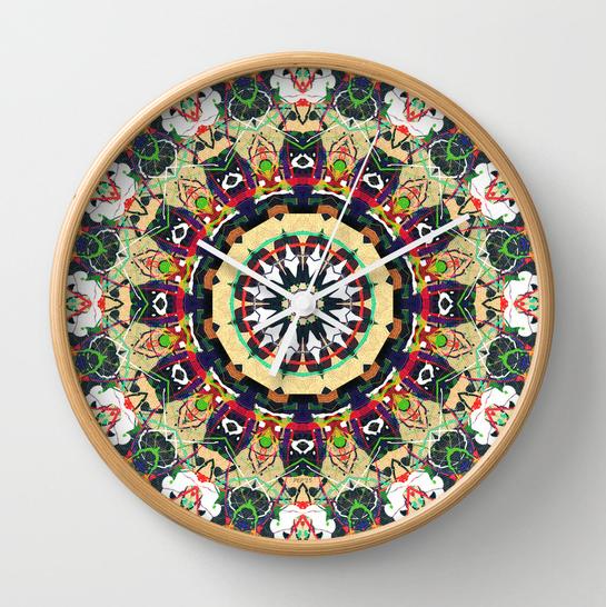 Mandala Design Time Dial