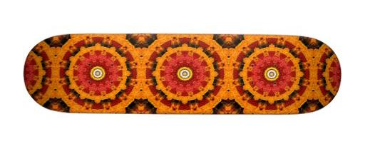 Slices of Orange Skateboard Deck