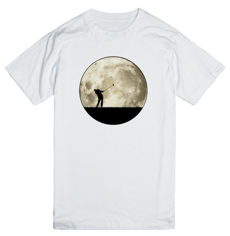 Golfing At Night T-shirt