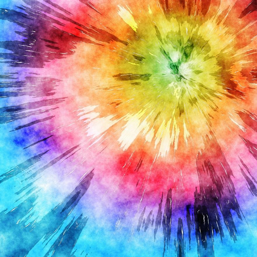 Tie Dye Watercolor