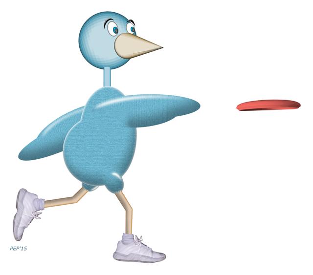 Disc Golf Bird