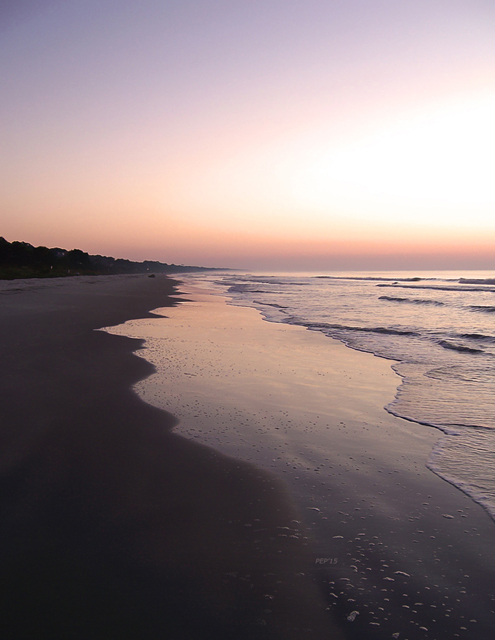 Sunrise On Hilton Head Island