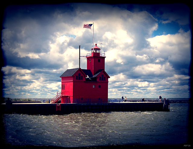 Big Red Lighthouse