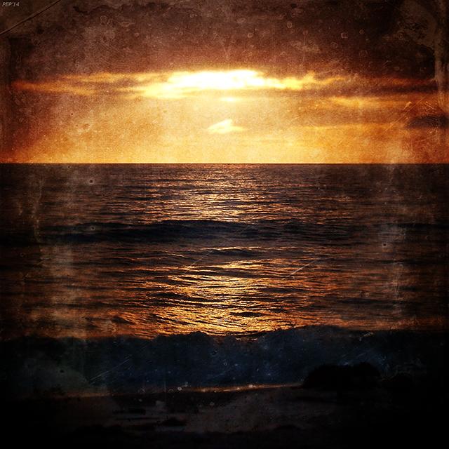 California Grunge Sunset