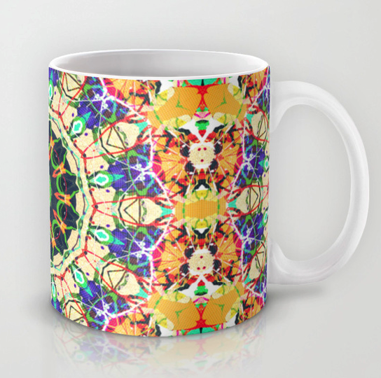 Kaleidoscope of Textures Coffee Mug