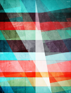 Colorful Grunge Stripes Abstract
