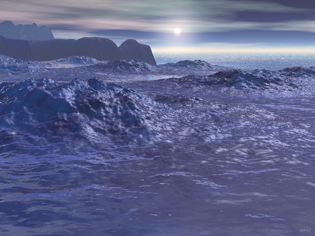 Frozen Sea of Neptune