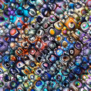 Colorful Chaotic Contours