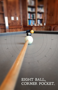 Eight Ball Corner Pocket