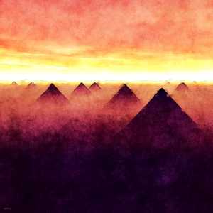 Pyramids At Sunrise