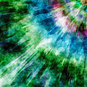 Abstract Grunge Tie Dye