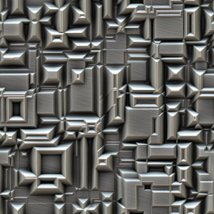Brushed Metal 3D Pattern