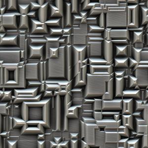 Brushed Metal 3D Pattern