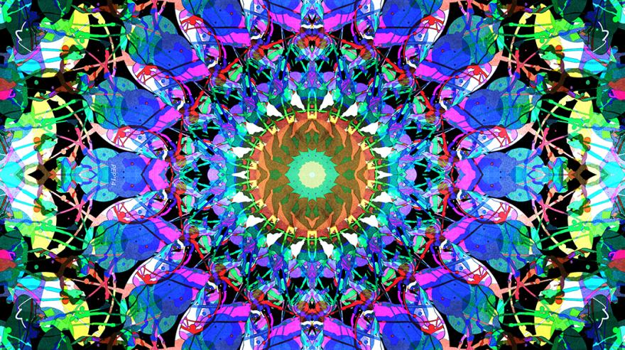Mixed Media Mandala 3
