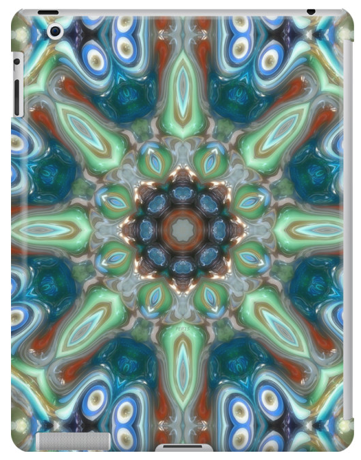 Colorful Glass Ornamentation iPad Case