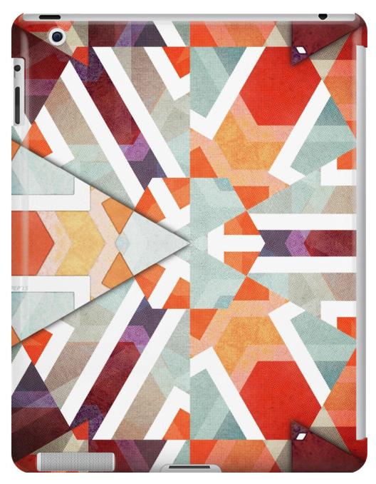 Geometric Abstract iPad Case