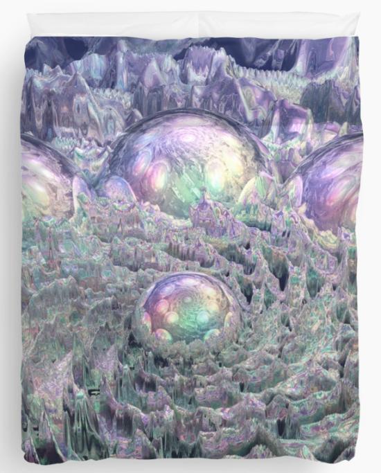 Spectral Universe Duvet Cover