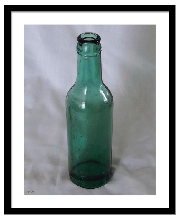 Vintage Bottle Framed Print