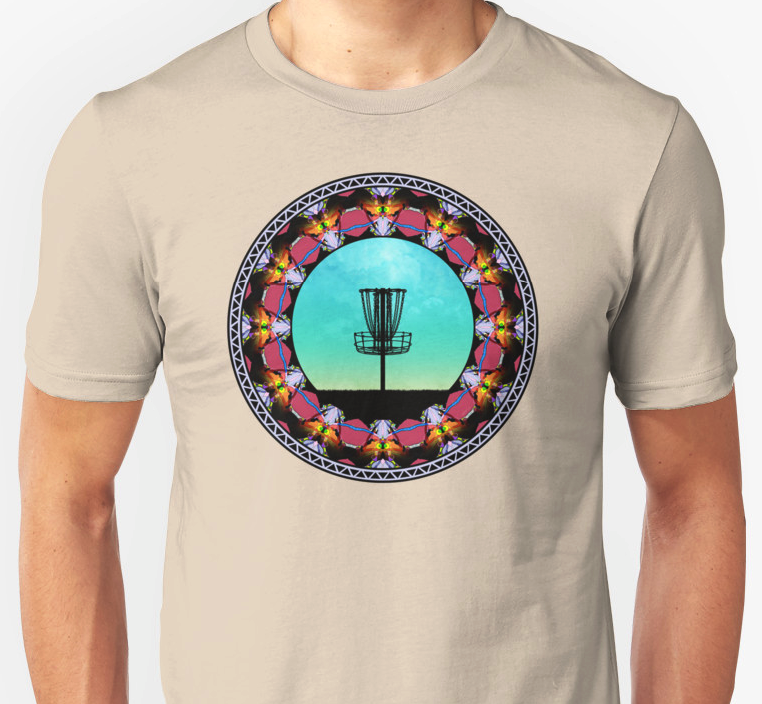 Disc Golf Basket T-shirt