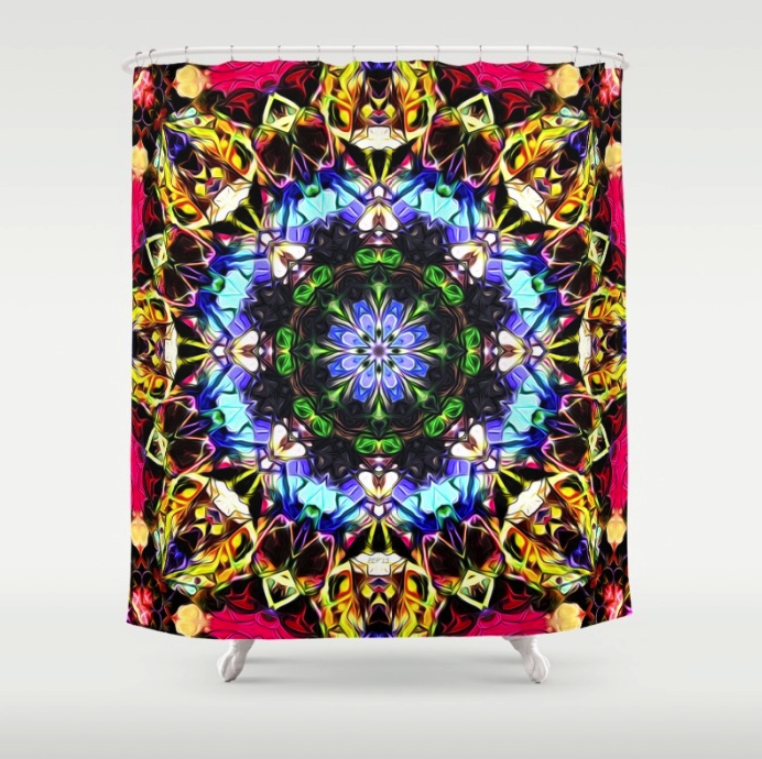 Spectral Symmetry Shower Curtain