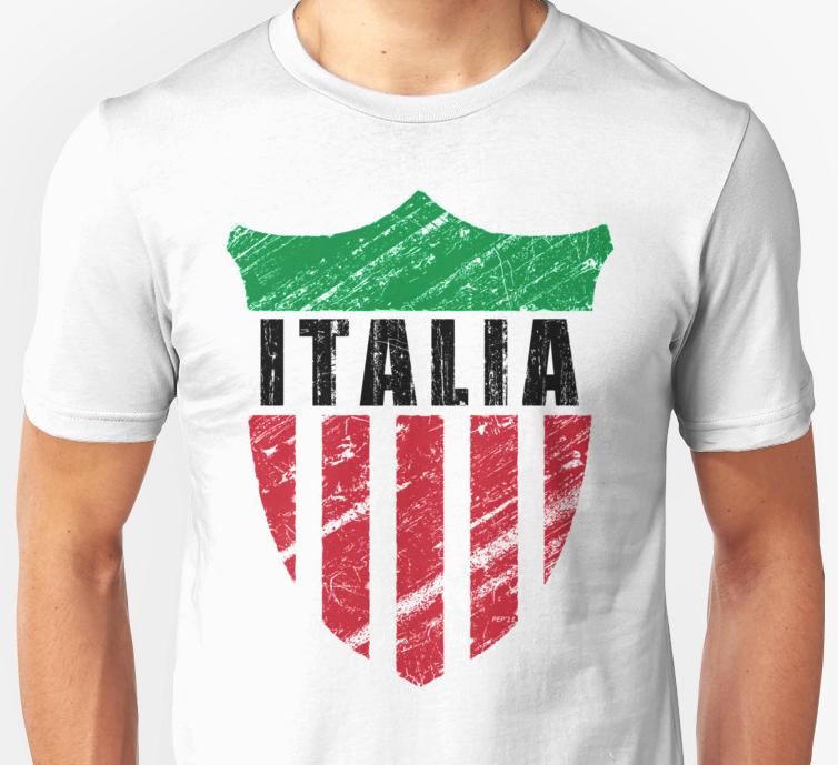 Vintage Italy Emblem T-shirt