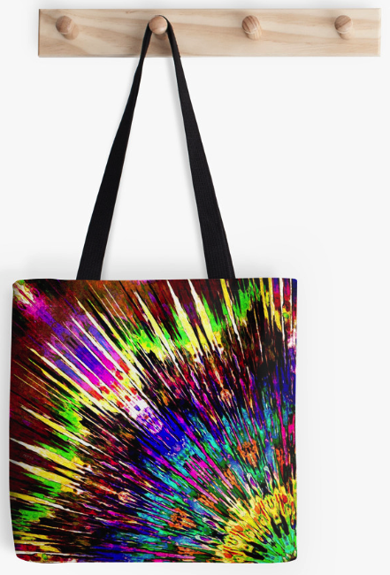 Burst of Colors Tote Bag