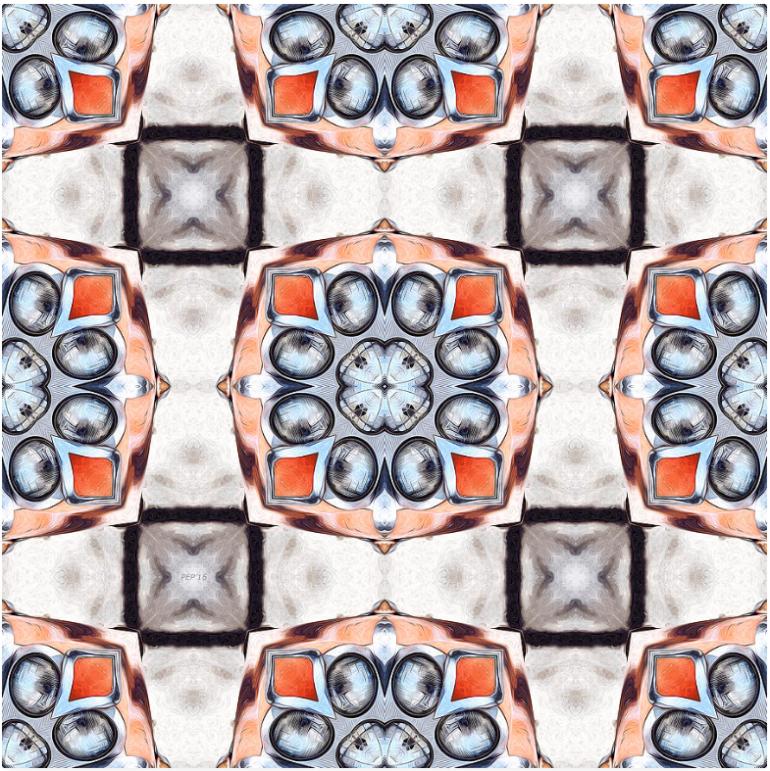 Automobile Headlights Pattern