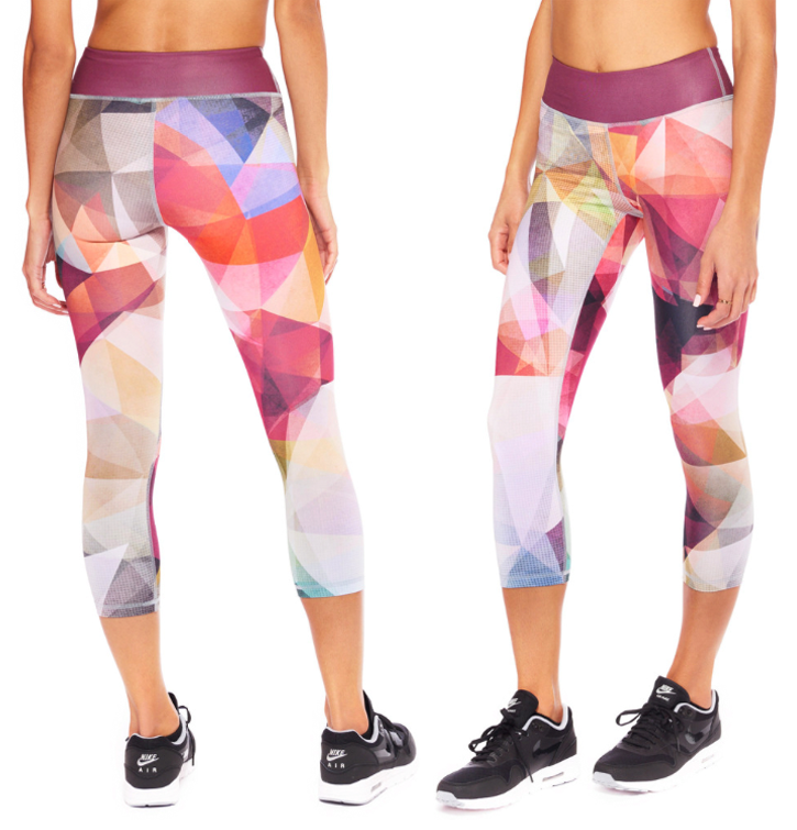 Lucid Crop Leggings