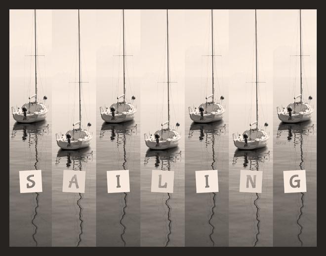 Sailing Sepia Seas