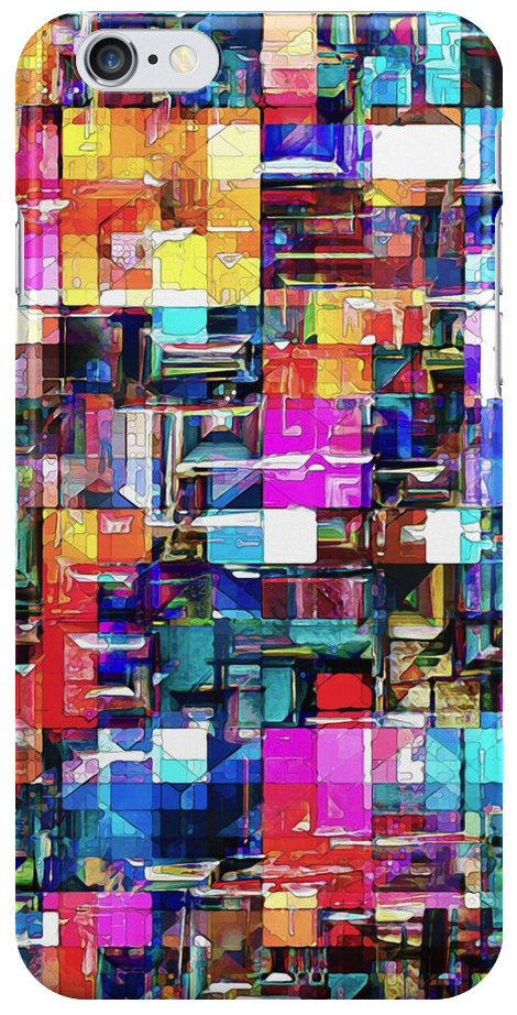 Abstract Chaos of Colors
