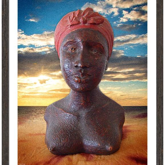 Bust of An African Woman