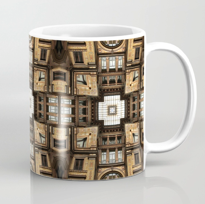 Abstract Architectural Structure Mug