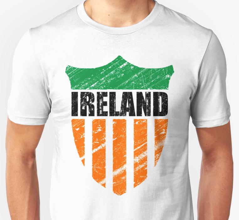Vintage Ireland Emblem T-shirt