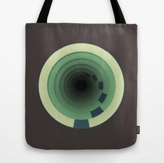 Traveling In Circles Tote Bag