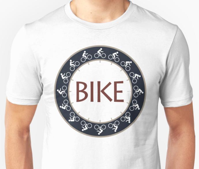 Bike Riding Graphic T-shirt