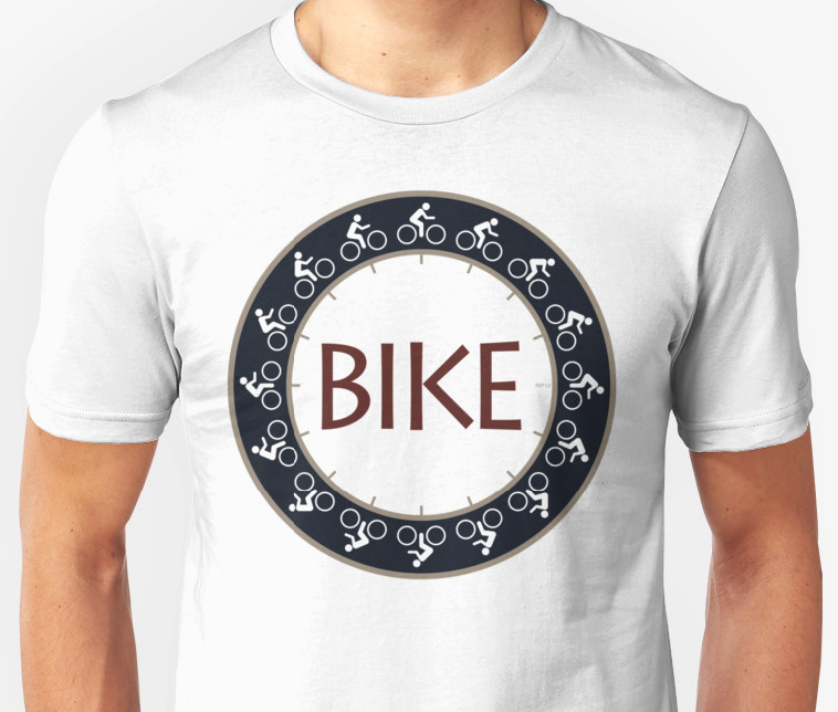 Bike Riding Graphic T-shirt