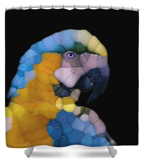Colorful Glass Parrot
