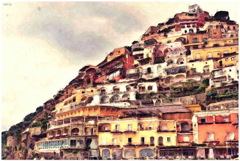 Italian Hillside Village