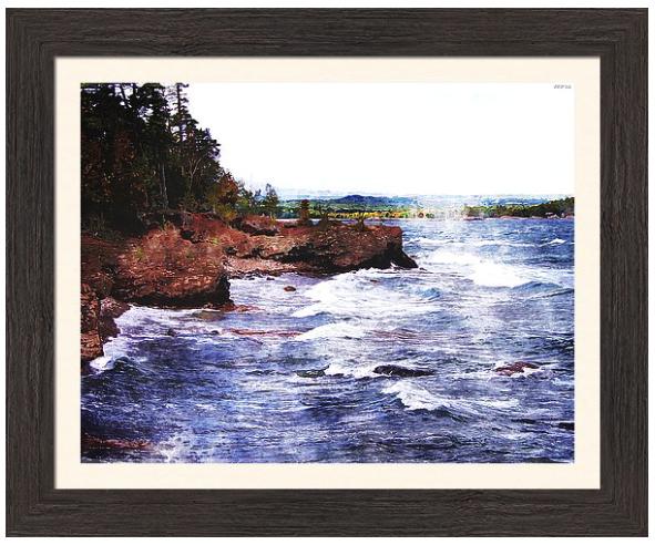Upper Peninsula Landscape Print