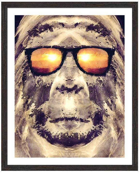 Bigfoot In Shades