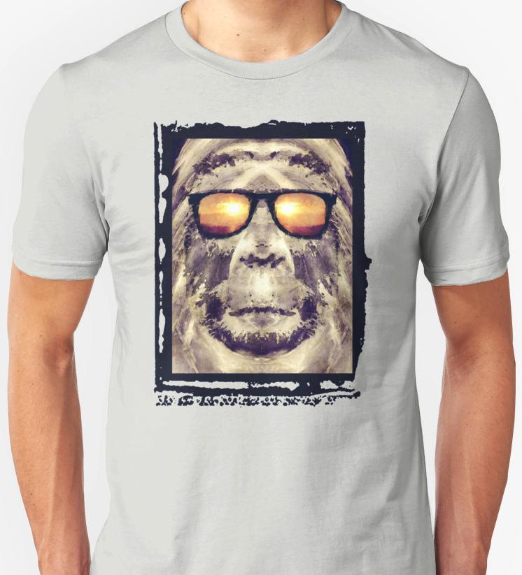 Bigfoot In Shades T-shirt
