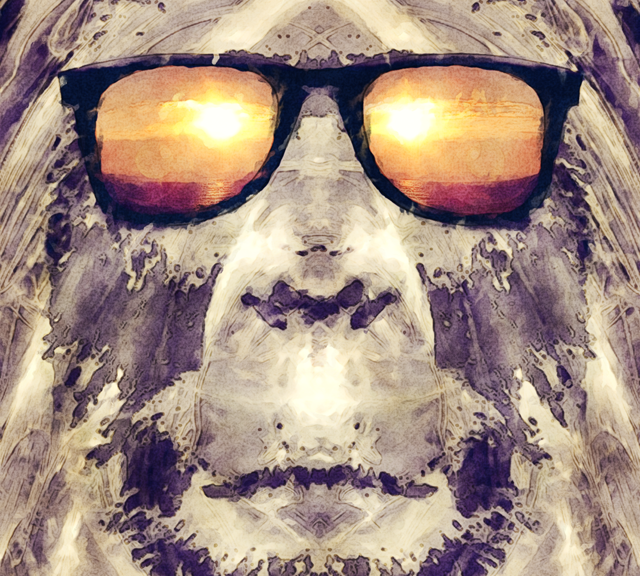 Bigfoot In Shades