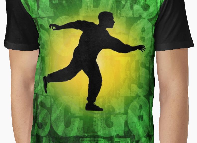 Disc Golfer Graphic T-shirt