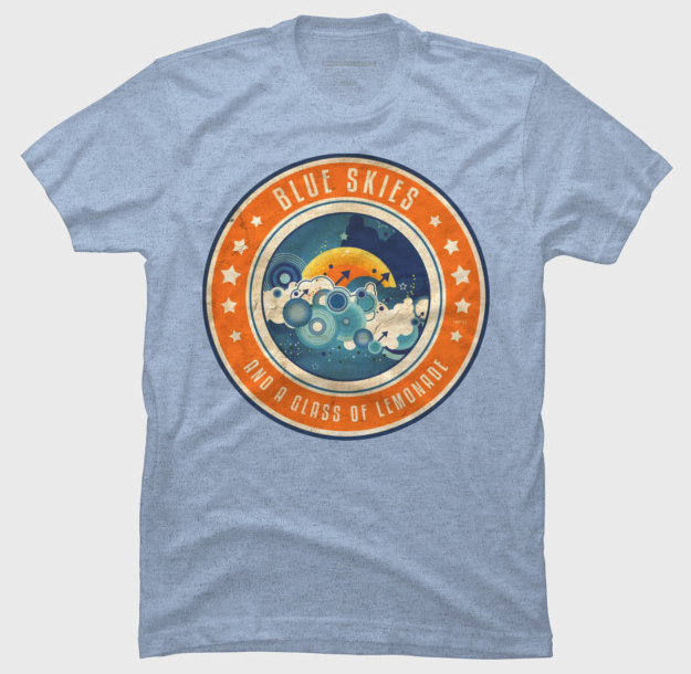 Retro Summertime Graphic T-shirt