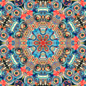 Abstract Tribal Mandala