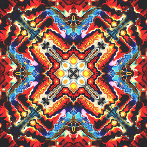 Colorful Tribal Motif