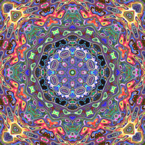 Colorful Mandala Abstract