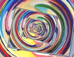 Spinning Colors Abstract