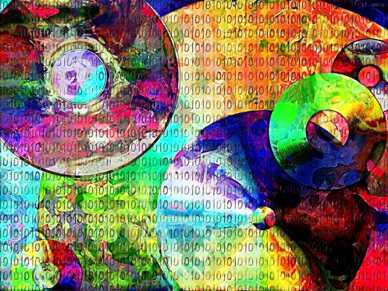 Binary Data Abstract