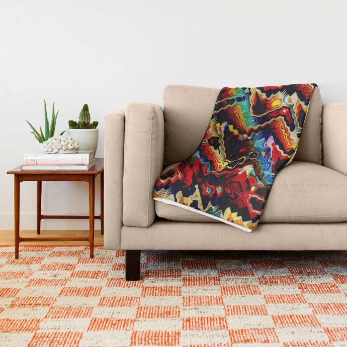 Colorful Geometric Motif